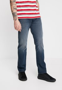 Levi's® - 501® LEVI'S®ORIGINAL FIT - Džíny Straight Fit - space money - 0