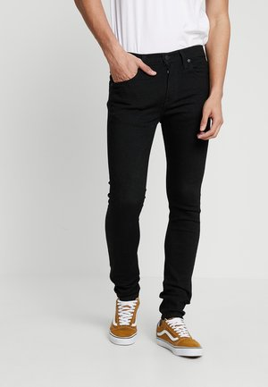 519™ EXTREME SKINNY FIT - Jeansy Skinny Fit - black denim