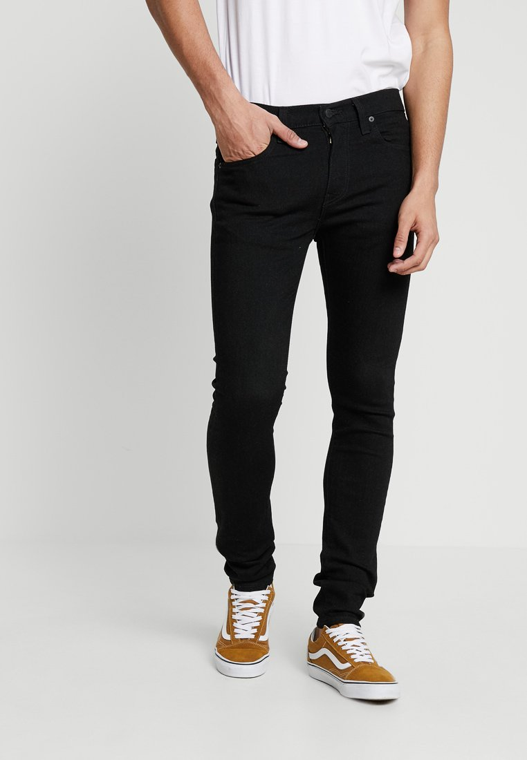 Levi's® - 519™ EXTREME SKINNY FIT - Vaqueros pitillo - black denim