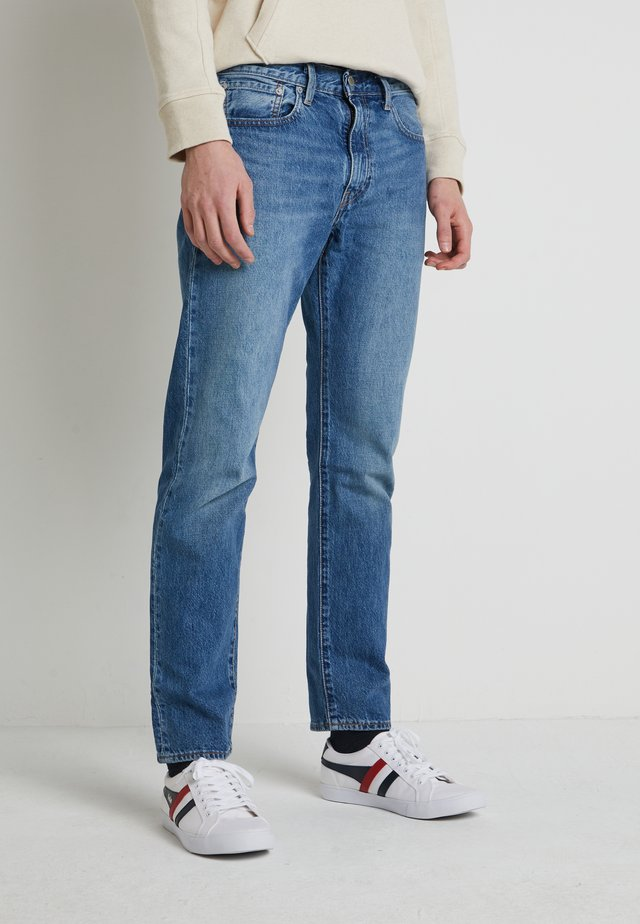 WELLTHREAD 502™ - Jeans a sigaretta - watermark indigo hemp