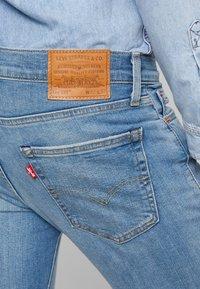 Levi's® - 511™ SLIM FIT - Slim fit -farkut - blue denim - 4