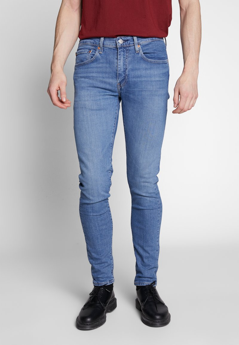 Levi's® - SKINNY TAPER - Jeans Skinny Fit - blue denim