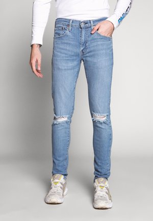 SKINNY TAPER - Jeans Skinny Fit - light blue denim