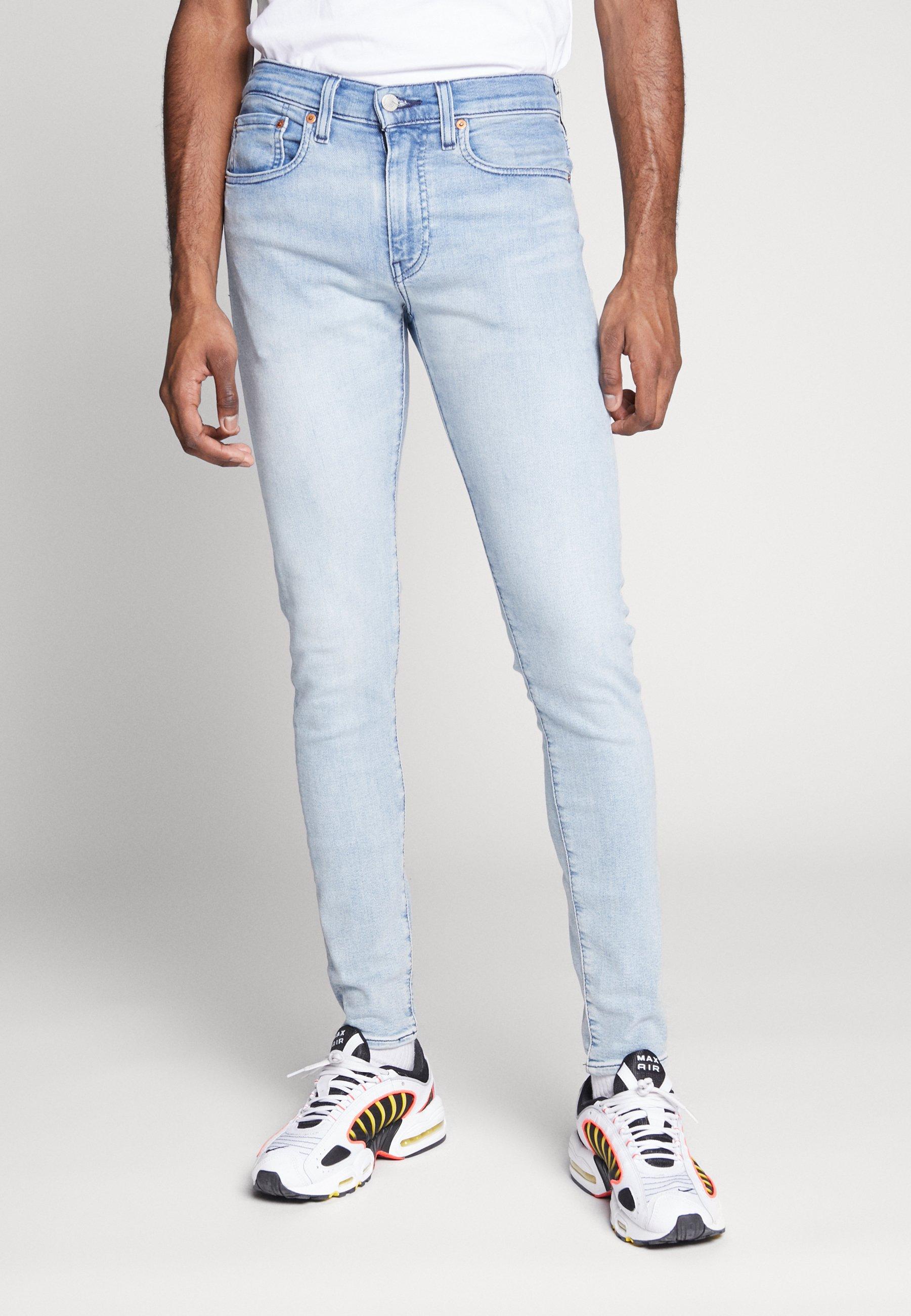 Levi's® SKINNY TAPER - Jeansy Skinny Fit - light-blue denim