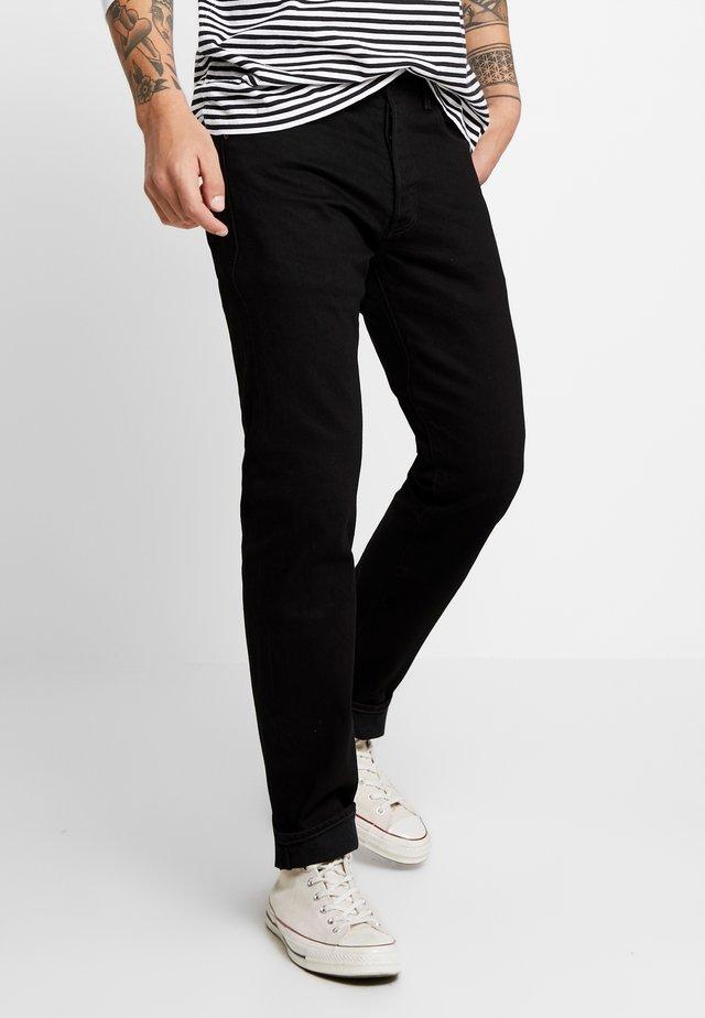 501® '93 STRAIGHT - Jeans a sigaretta - black punk
