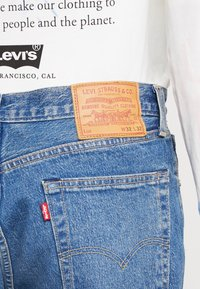 Levi's® - 501® '93 STRAIGHT - Vaqueros rectos - bleu eyes peak - 4