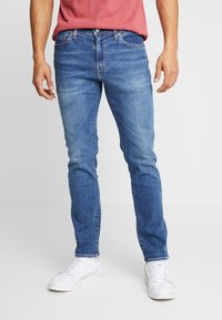 Levi's® - 511™ SLIM - Trousers - blue denim - 0