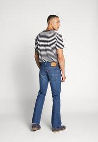 Levi's® - 527™ SLIM - Jeans bootcut - dark-blue denim - 2