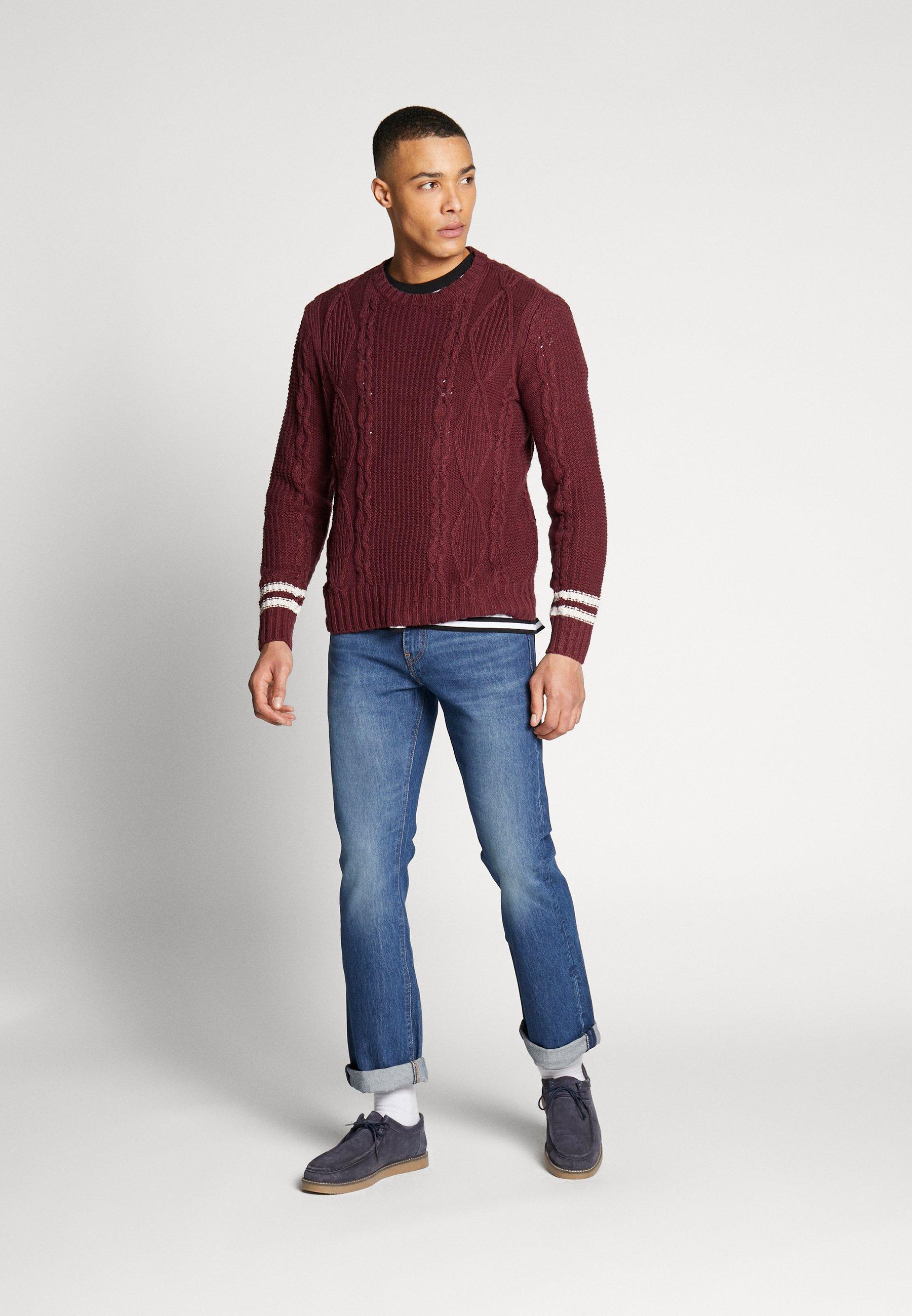 Levi's® 527™ SLIM - Jeans bootcut - dark-blue denim