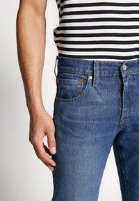Levi's® - 527™ SLIM - Jeans bootcut - dark-blue denim - 3