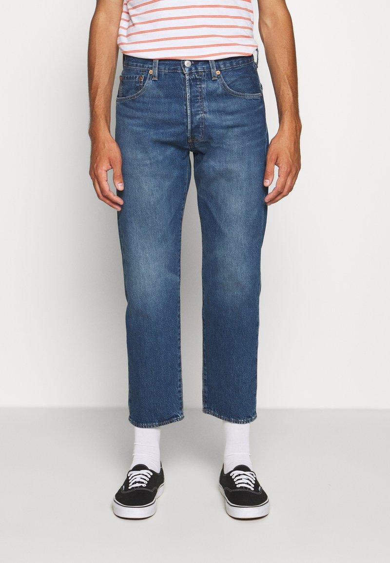 Levi's® - 501 '93 CROP - Straight leg jeans - bleu eyes night