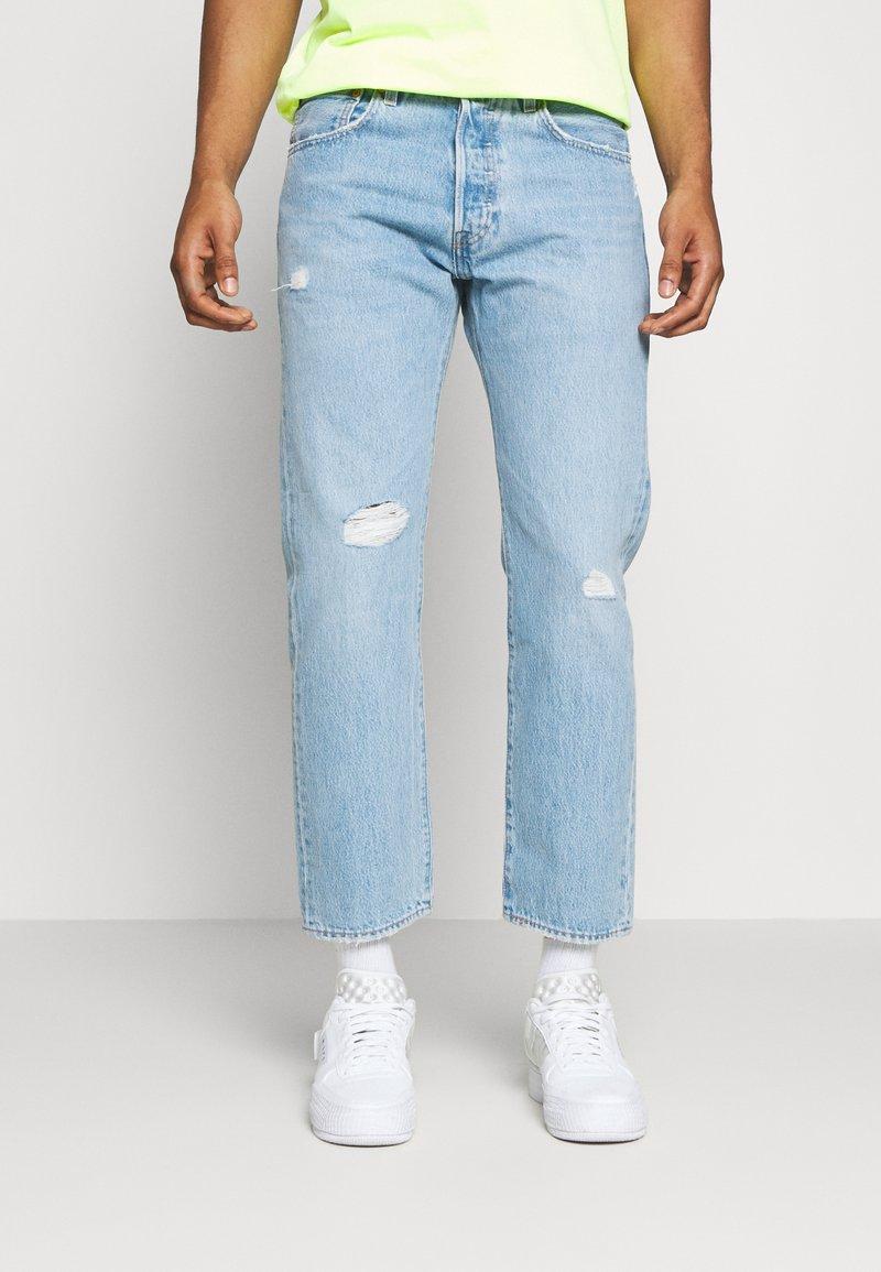 Levi's® - 501 '93 CROP - Džíny Straight Fit - med indigo