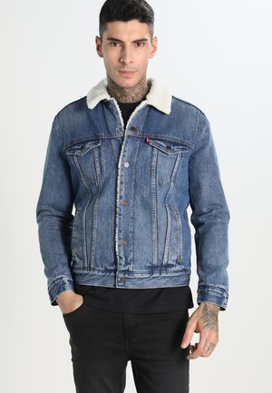 TYPE 3 SHERPA TRUCKER - Denim jacket - needle park