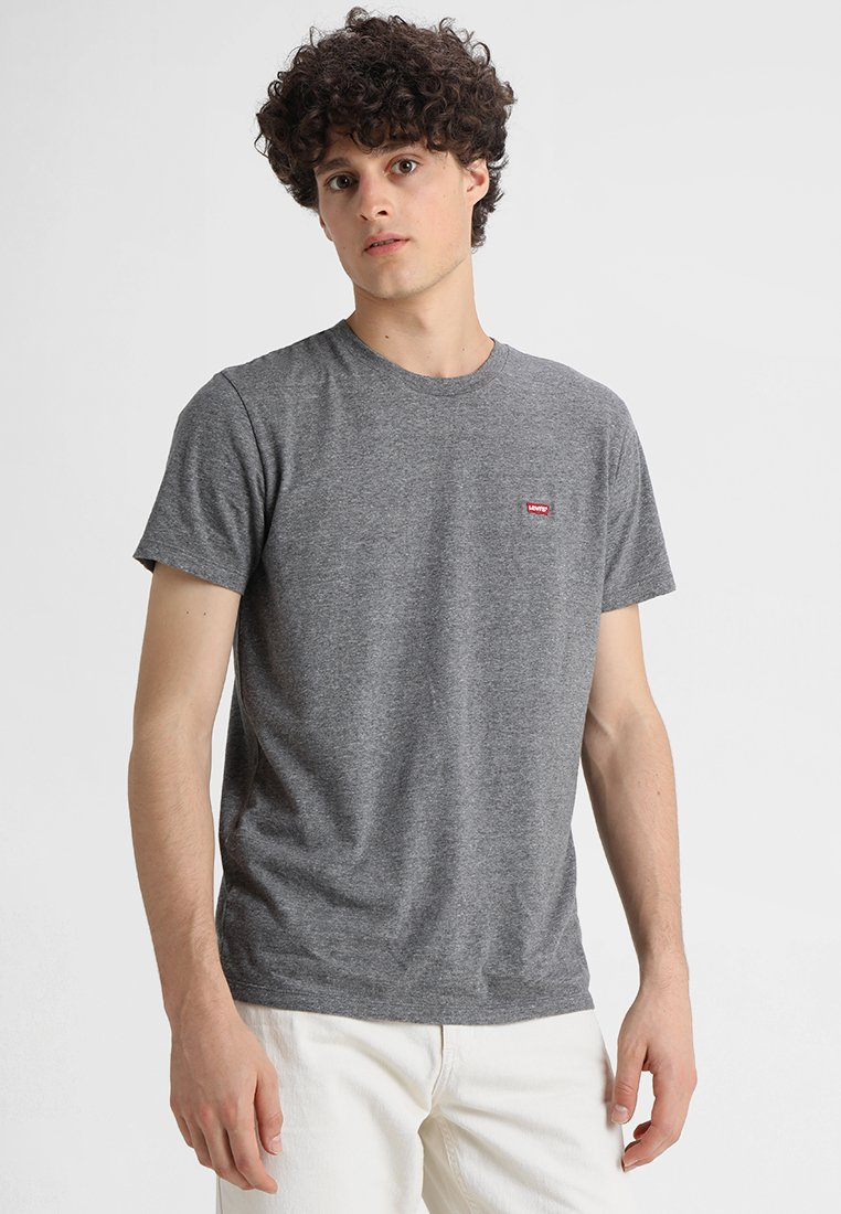 Levi's® - 501 ORIGINAL TEE - Camiseta básica - tri-blend/patch obsidian heather