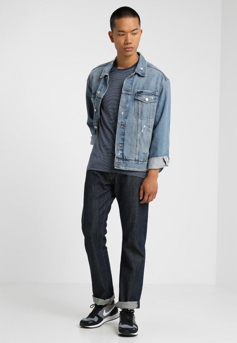 Levi's® - SLIM FIT CREW TEE 2 PACK - T-shirt imprimé - blue/grey