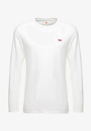 ORIGINAL TEE - Top sdlouhým rukávem - white