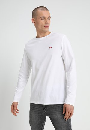 ORIGINAL TEE - Topper langermet - white