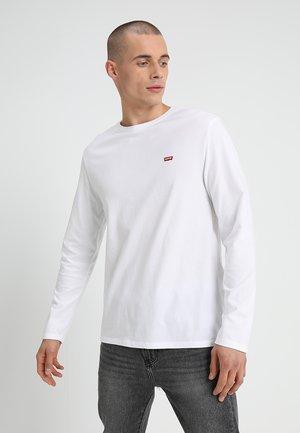 ORIGINAL TEE - Pitkähihainen paita - white