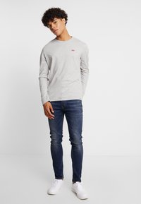Levi's® - ORIGINAL TEE - T-shirt à manches longues - grey heather - 1