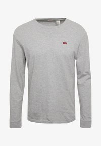 Levi's® - ORIGINAL TEE - T-shirt à manches longues - grey heather - 3