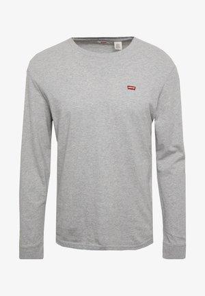 ORIGINAL TEE - Topper langermet - grey heather