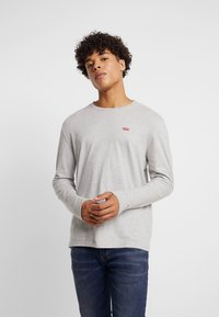 Levi's® - ORIGINAL TEE - T-shirt à manches longues - grey heather - 0