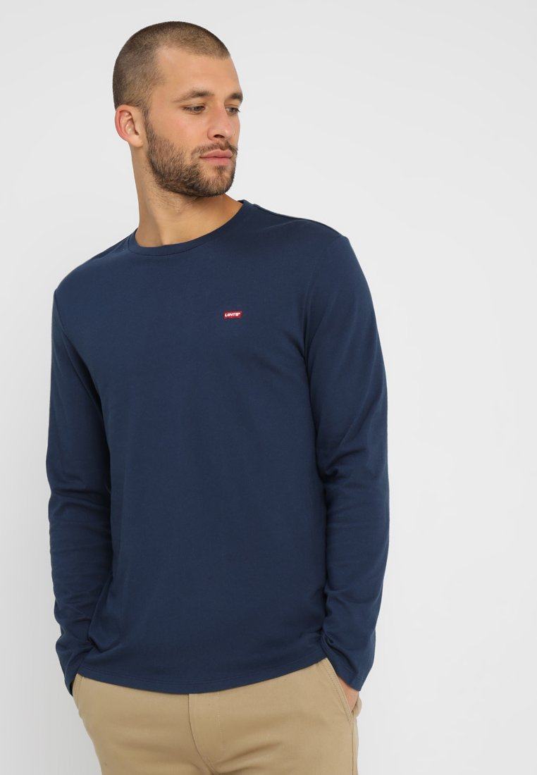 Levi's® - ORIGINAL TEE - Longsleeve - dress blues