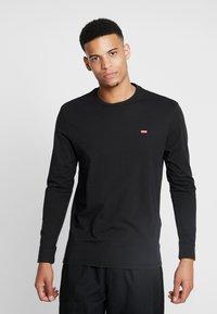 Levi's® - ORIGINAL TEE - Bluzka z długim rękawem - black - 0