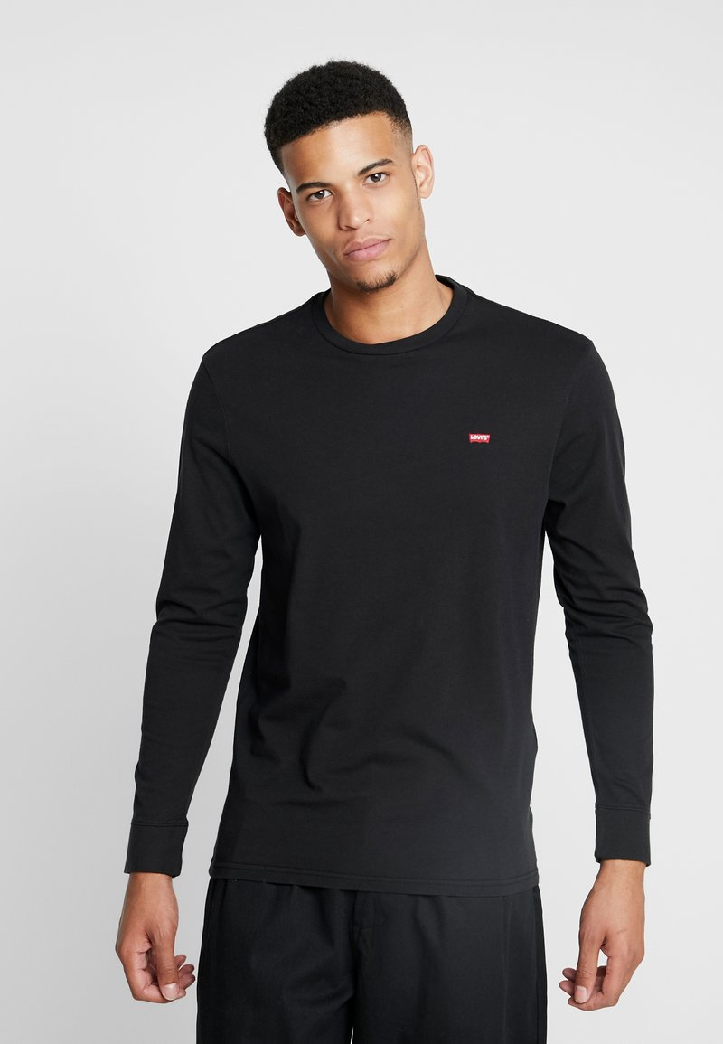 Levi's® - ORIGINAL TEE - Bluzka z długim rękawem - black