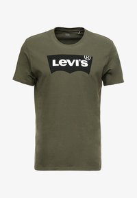 Levi's® - HOUSEMARK GRAPHIC TEE - T-shirt imprimé - tech olive night - 4