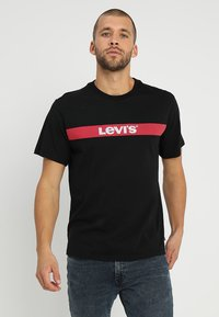 Levi's® - OVERSIZED GRAPHIC TEE - T-Shirt print - mineral black - 0
