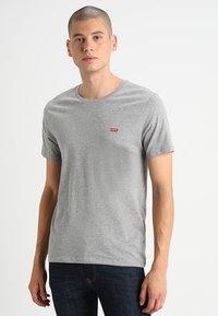 Levi's® - CREWNECK TEE 2 PACK - T-shirt - bas - mottled grey - 1