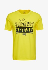 peanuts squad/cyber yellow