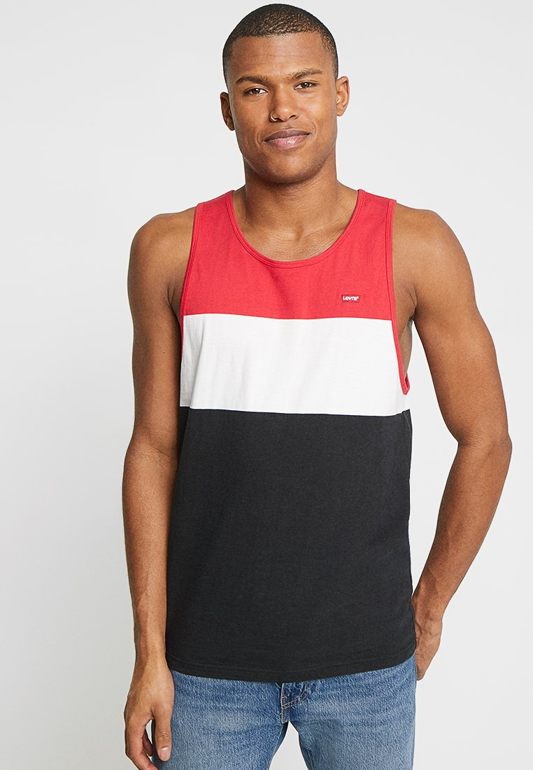 Levi's® - CLASSIC TANK - Top - lychee/white/mineral black