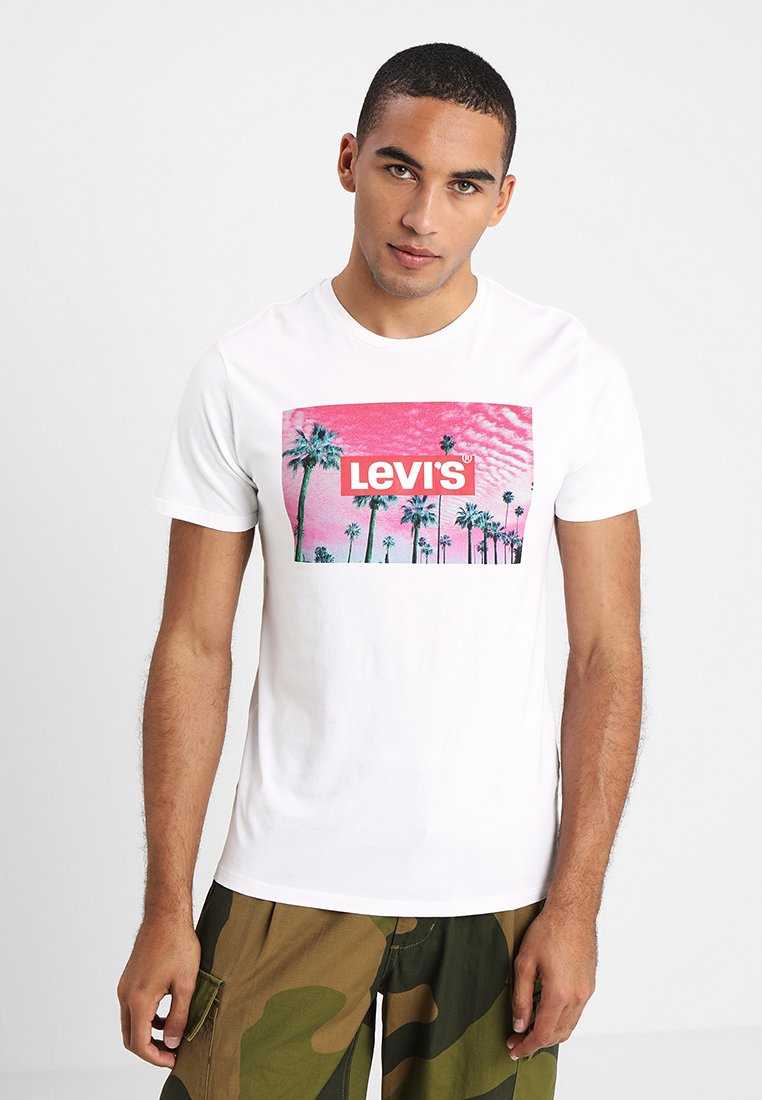 Levi's® - GRAPHIC SET IN NECK - T-shirt imprimé - white