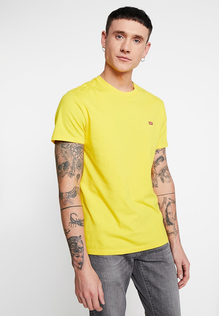 Levi's® - ORIGINAL TEE - T-Shirt basic - brilliant yellow