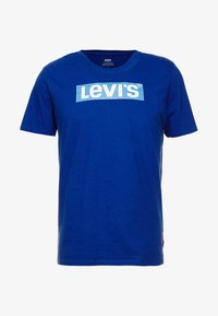 Levi's® - GRAPHIC SET-IN NECK 2 - T-shirt con stampa - sodalite blue - 3