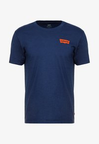 Levi's® - GRAPHIC IN NECK - Print T-shirt - dark blue - 4