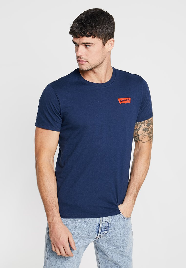Levi's® - GRAPHIC IN NECK - T-Shirt print - dark blue
