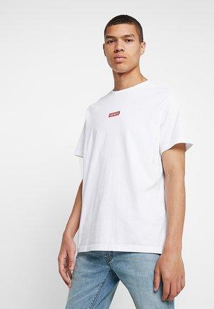 OVERSIZED BABY TAB - T-shirt - bas - white