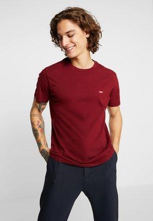 ORIGINAL TEE - Jednoduché triko - warm cabernet