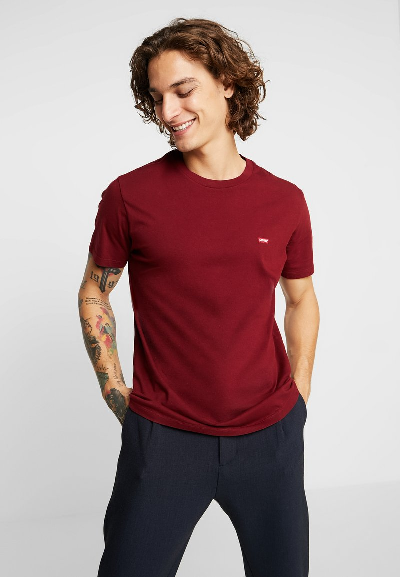 Levi's® - ORIGINAL TEE - Basic T-shirt - warm cabernet
