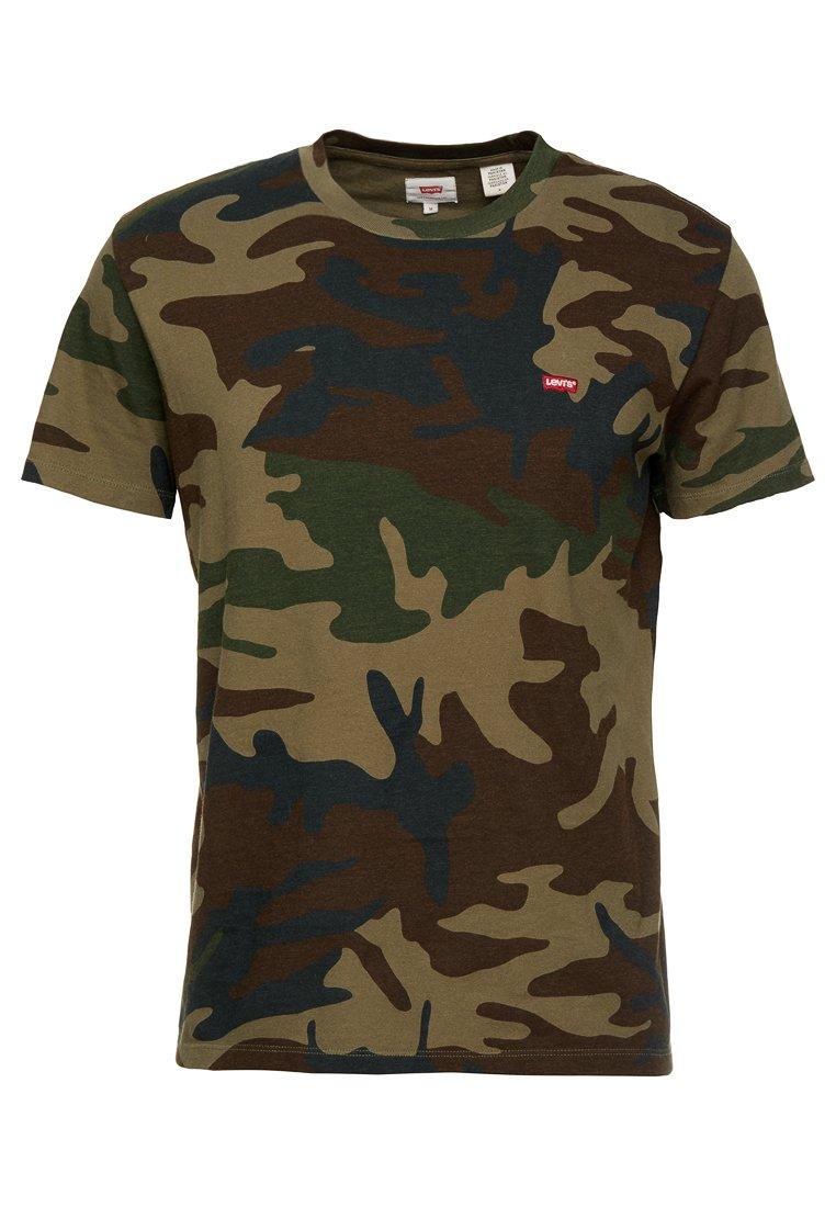 Levi's® ORIGINAL TEE T shirt imprimé olive night