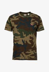 Levi's® - ORIGINAL TEE - Camiseta estampada - olive night - 4