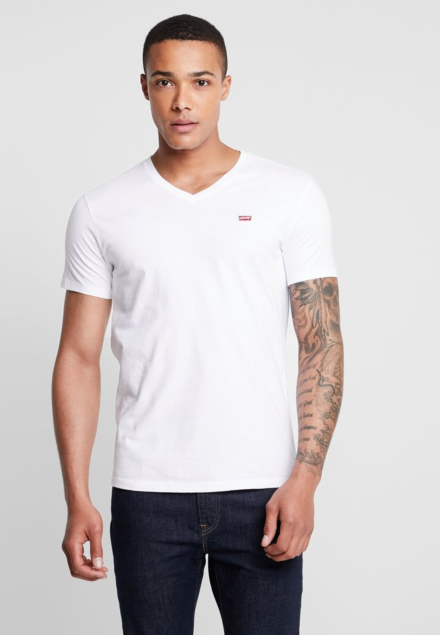 ORIGINAL V-NECK - Camiseta básica - white