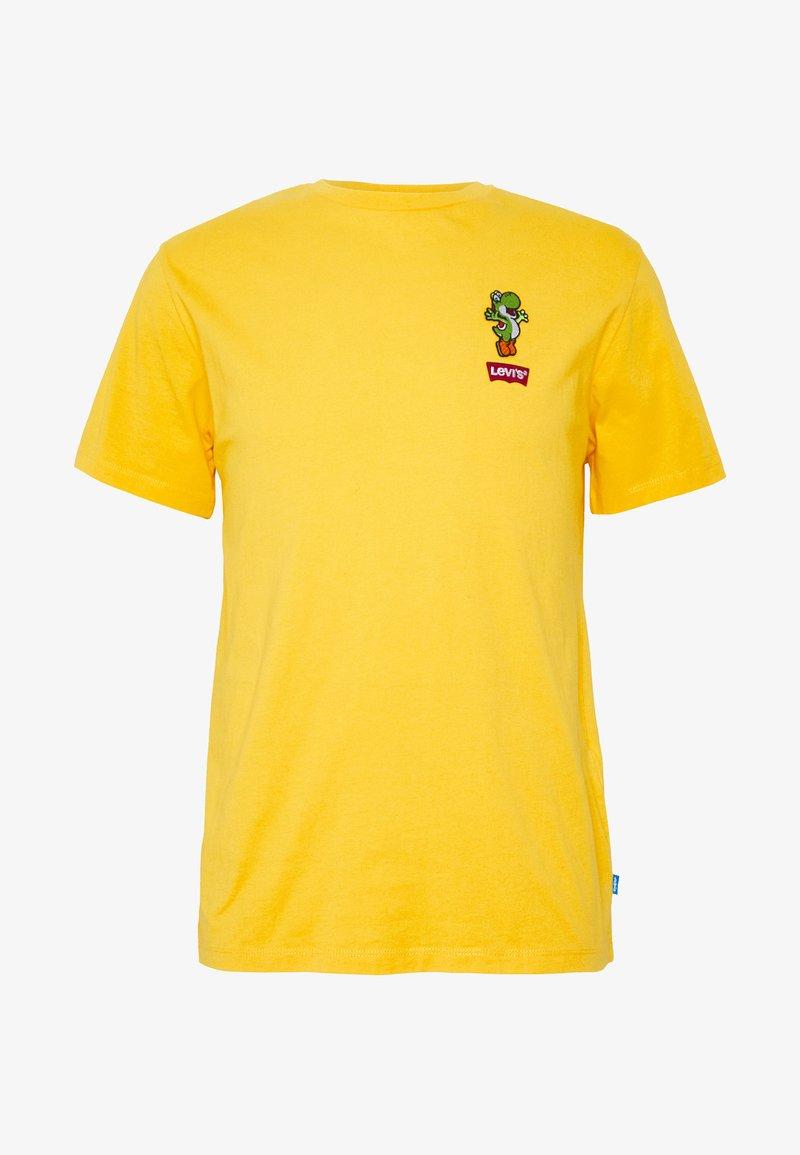 Levi's® - LEVI'S® SUPER MARIO GRAPHIC - T-Shirt print - yellow