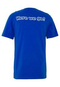 Levi's® - LEVI'S® SUPER MARIO GRAPHIC - T-shirt print - blue - 1