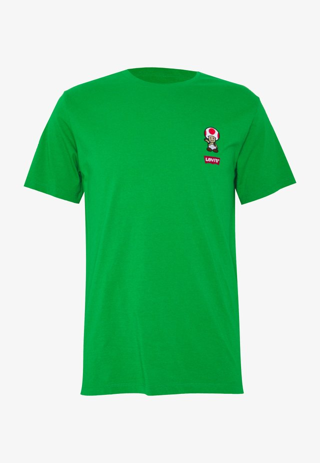 LEVI'S® SUPER MARIO GRAPHIC - T-shirt con stampa - green