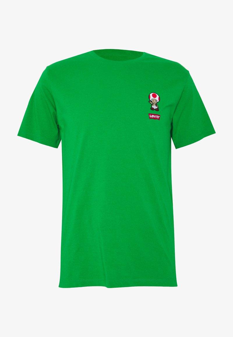 Levi's® - LEVI'S® SUPER MARIO GRAPHIC - Print T-shirt - green