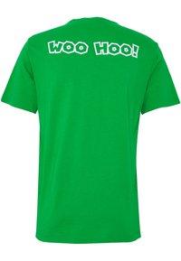 Levi's® - LEVI'S® SUPER MARIO GRAPHIC - Print T-shirt - green - 1